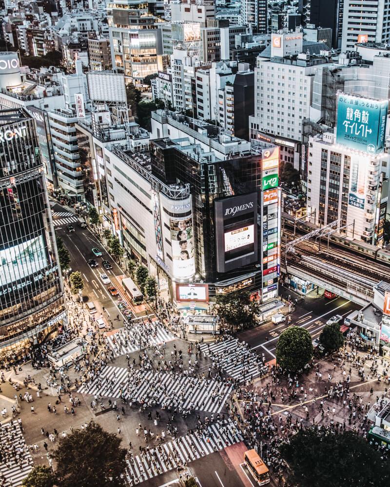 tokyo shibuya japan hachiko elindulgist